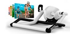Fitness tech gift idea: BKOOL Bike Trainer + Simulator to let you ride virtually anywhere in the world. Wow.