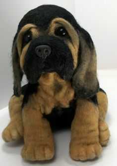 This amazing needle felted dog was made by Lisa Schmidt of Utah! The wrinkles she did around his face and neck are so well felted! Good job, Lisa! She needle felted it using Living Felt Core Wool,...