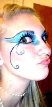 DIY Halloween Makeup : Mermaid makeup