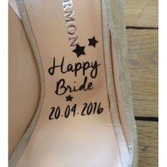 Stickers Chaussures de Mariée - Place du Mariage