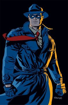 He teams up with the Rocketeer in this weeks Pulp Friction #1 so Today's Character of the day is The Spirit