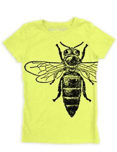 Girl's Tee-Queen Bee
