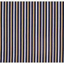 Blue and Yellow Striped Cotton Shirting