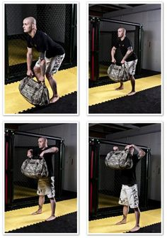 How to build your own sandbag, advice on buying sandbags, and how to use the sandbags to train specifically for MMA, BJJ, and other combat sports. Spice up your workouts with some sand!