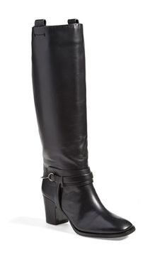 Free shipping and returns on VC Signature 'Tazmin' Knee High Boot (Women) at Nordstrom.com. An equestrian-inspired, knee-high boot keeps it classic with a slightly square toe and belted bit hardware. The blockier, wrapped heel gives you a street-smart, well-balanced boost.