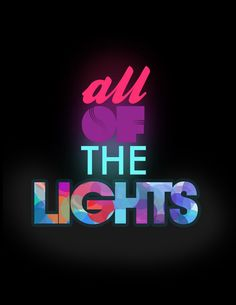 "Kanye west - ""all of the lights"""