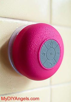 Supersonic Bluetooth Shower Speaker In 4 Colors! | MY DIY ANGELS, DIY and Extreme Couponers