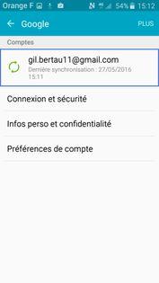 Désactiver votre compte Google sur Android - Assistance Orange
