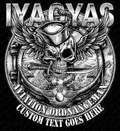 This Aviation Ordnanceman IYAOYAS Military Shirt created for the red shirts. Military Veteran Shirts for sale! Military Veterans, Military Life, Military Art, Military Quotes, Navy Veteran, Military Humor, Military Service, Us Navy Shirts, Navy Rates