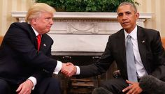 Donald Trump Vs Obama Photo