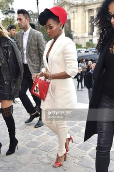 Janelle Monae's Paris Fashion Week Style Had Jaws Dropping