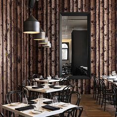 0.53*10M Europe Non-Woven Wallpapers Wood/Tree Vinyl 3D Wallpaper/ Thick Embossed Textured Wallpaper Not Prepasted WA298 T50