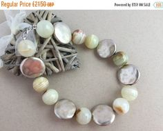 ON SALE Gemstone necklace - Jade necklace - Bead necklace - Gift for her - Ladies gift - Fashion statement accessory - Birthday Gift - Jade by Artjewellerydesigns on Etsy https://www.etsy.com/uk/listing/510393815/on-sale-gemstone-necklace-jade-necklace