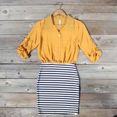 No.2 Pencil Dress, Sweet Women's Bohemian Clothing