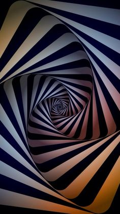 Abstract Swirl Dimensional 3D  #iPhone #7 #wallpaper