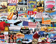 White Mountain Puzzles I Love America - 1000 Piece Jigsaw Puzzle Cool Toys For Boys, Best Kids Toys, Toddler Christmas, Christmas Toys, Best Gifts For Tweens, Puzzle Shop, Tween Girl Gifts, I Love America, American Gothic