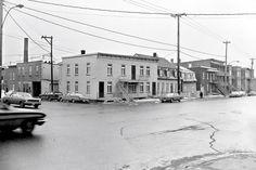 Le vieux qu bec des ann es 50 60 rue st joseph dans st for Porte 60 hotel dieu sherbrooke