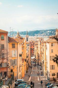 Nice, Provence France, South Of France, Wonderful Places, Beautiful Places, Places To Travel, Places To Go, Nice Cote D Azur, Dreams