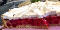Johannesbeer Baiser Kuchen von Thermomix, super gelungen und für besondere Freunde das perfekte Kaffee Klatsch Kuchen ☺️