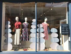 Seasalt Cornwall creative windows inspired by stacking pebbles on the beach.