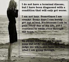 Love this.. So true. Many people do not understand how much we are suffering and how many health issues come along with endometriosis. It's not in our heads!!