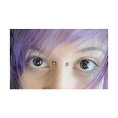 Bridge Piercing ❤ liked on Polyvore featuring piercings