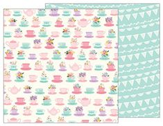 American Crafts 733530 Pebbles Tealightful Teacups 25 Pack of 12 X 12 Patterned Paper -- Continue to the product at the image link.Note:It is affiliate link to Amazon.