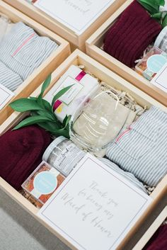 THANK YOU GIFTS Marigold & Grey creates artisan gifts for all occasions. Wedding welcome gifts. Workshop swag. Client gifts. Corporate event gifts. Bridesmaid gifts. Groomsmen Gifts. Holiday Gifts. Click to order online. Image: Lissa Ryan Photography