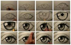 Google+  How to Draw a Realistic Eye  Video > http://youtu.be/LZ9Hpp8JygI  More at : +Interesting Engineering  www.welldonestuff.com