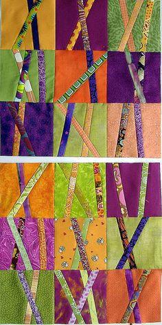 modern quilt squares