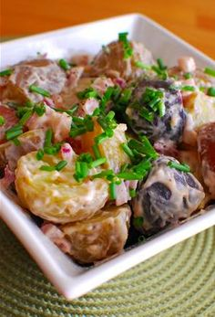 Potato Salad | Slimming Eats - Slimming World Recipes - could use Total 0 and leave out sugar to make this sin free