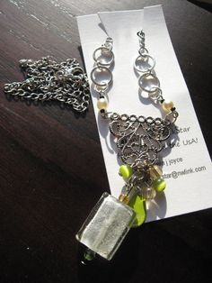 Chandelier Style Assembled Chain   Necklace by WannaBRockstar, $23.95