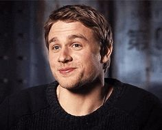 Charlie Hunnam and his handsome face