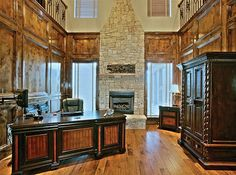 LHM Dallas/Ft. Worth - This architecturally stunning custom estate is situated on .461acres with a fabulous outdoor living room with a large covered patio, stone fireplace and built-in bar. This one-of-a-kind estate offers an open floor plan with 5 bedrooms + Study, 5 full baths, 3 living areas including a downstairs soundproof media room and a 4 car garage. A few of the luxury amenities include extensive hardwood flooring...