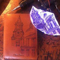 London skyline tattoo, St Pauls Tattoo. Tattoos on Passport holder