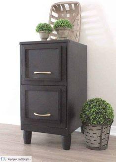 filing cabinet makeover Painted File Cabinets, Old Cabinets, Filing Cabinets, Filing Cabinet Makeovers, Filing Cabinet Desk, Cupboard Makeover, Kitchen Cabinets, Vintage Sofa, Vintage Dressers