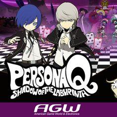 Persona Q: Shadow of the Labyrinth para Nintendo 3DS es un spin-of de la saga Persona que cruza personajes de Persona 3 y Persona 4. La jugabilidad no será de rol por turnos, sino que será un juego de acción en el que explorar mazmorras, al estilo Etrian Odyssey. Las elecciones del jugador alterarán el resultado del juego