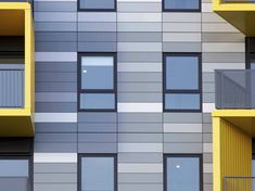 Panneau composite en aluminium ALUCOBOND® design By Composites Cladding Design, Interior Cladding, Facade Design, Exterior Design, Facade Engineering, Composite Siding, Facade Pattern, Building Facade, Facade Architecture