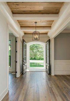 Image result for recessed bedroom ceiling shiplap ceiling #BedroomInteriorDesign