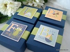 Navy+Blue+Alphabet+Favor+Boxes+Set+of+Ten+by+SimpleTastes+on+Etsy,+$25.00.  The F is for frog box is soooooo cute!
