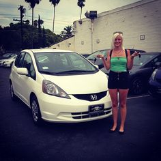 """#newcar #hondafit2013 I'm a very happy girl !!! LA it's on! #boutthatlife"" Photo taken by @shelbyautumnr on Instagram, pinned via the InstaPin iOS App! http://www.instapinapp.com (07/20/2013)"