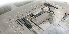 Trondheim Airport (TRD). Leaving LHR @ 06.55, arriving TRD @ 13.30, flying SAS. £102 each.
