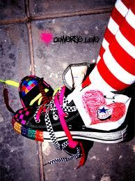 Pimped out converse