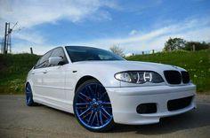BMW E46 3 series white