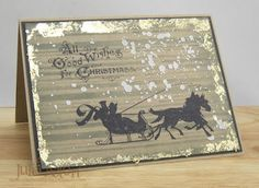 Stamps and Stencils : Winners - Grungy Christmas