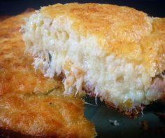 torta de bacalhau cremoso