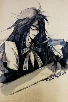 Imagen de kuroshitsuji and grell sutcliff