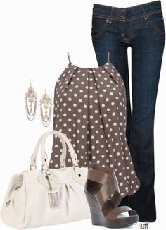 Get Inspired by Fashion: Work Outfits | Brown Dot