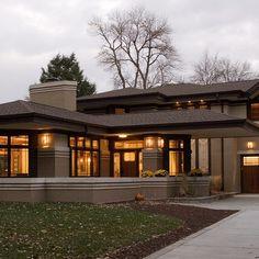 Prairie Style Home Exterior... #PrairieHome
