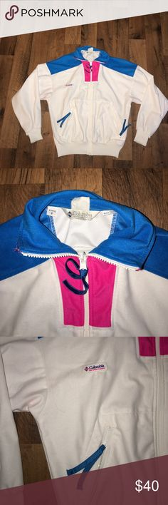 Women's Small Vintage Columbia Track Jacket Excellent condition Columbia Jackets & Coats